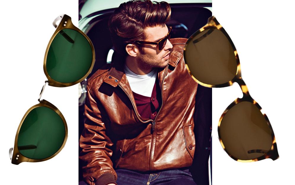 7 solglasögon med skön retrovibb Metro Mode