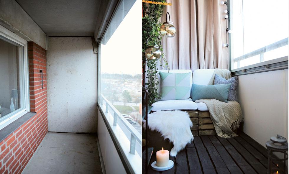 Så Får Du En Helt Ny Balkong Med Enkla Medel Metro Mode