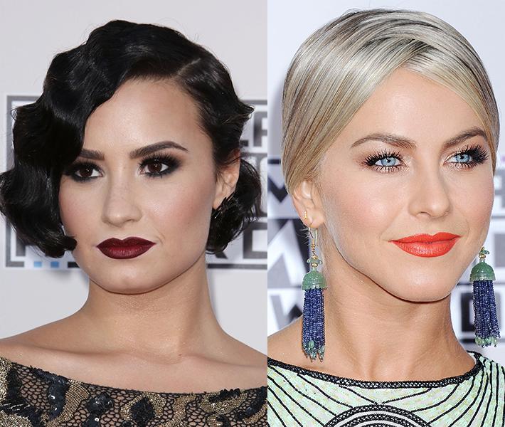 Perfekt till helgens fest - fixa kändisarnas glammiga make-up