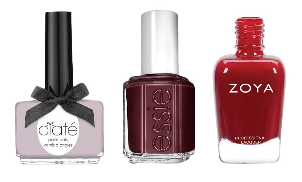 10 snygga nagellack för hösten och vintern 2015