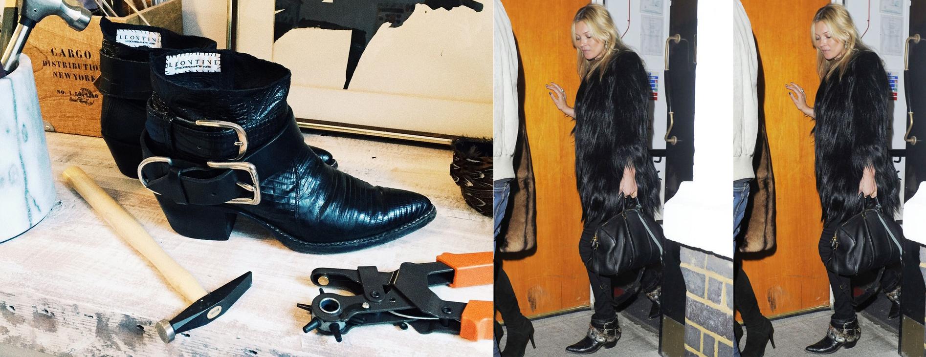 Hon är svenskan bakom Kate Moss nya favoritboots:
