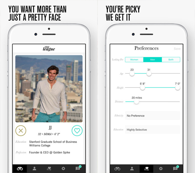 Dejting apps som tinder platser