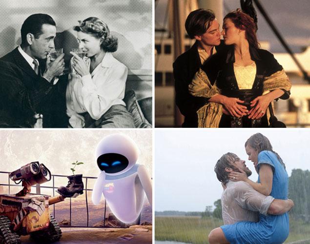 11 romantiska filmer att se i helgen