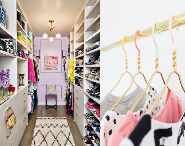 8 enkla sätt att organisera din garderob