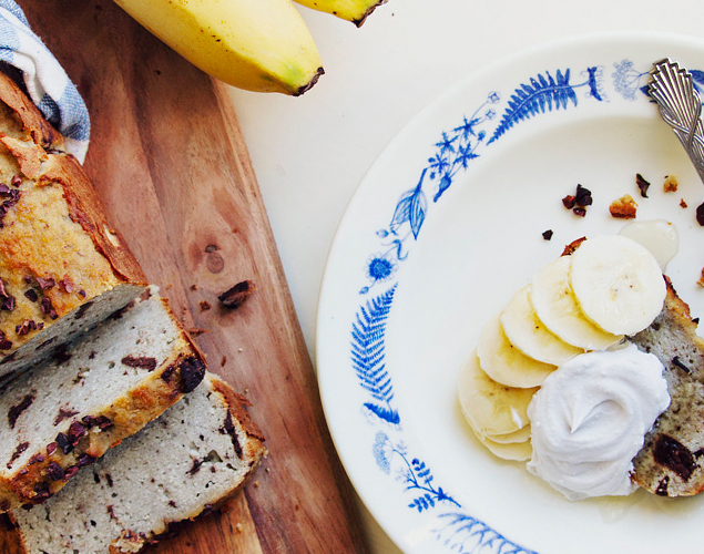 Supergod banan och chokladkaka – servera som mellanmål eller dessert