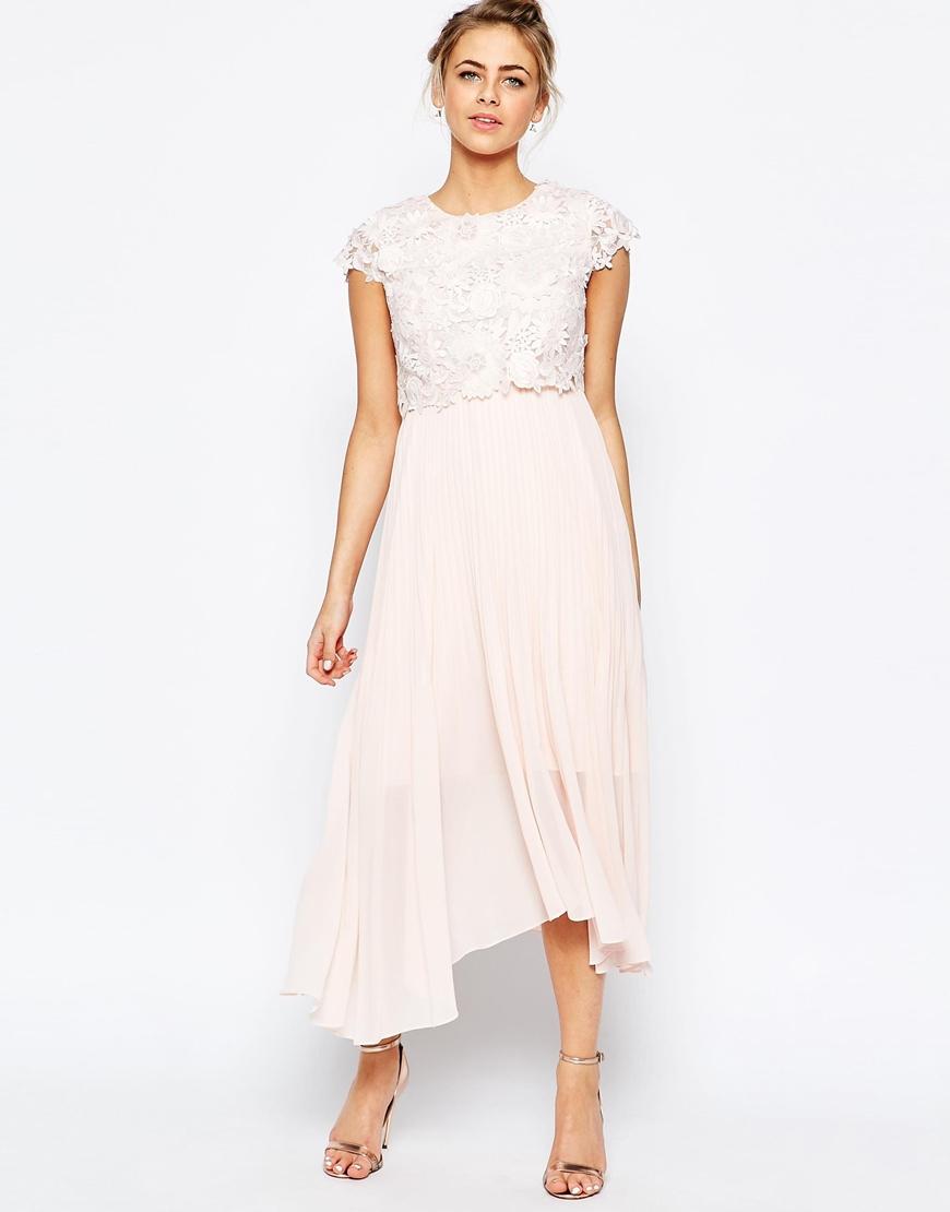 tvådelad klänning bröllop