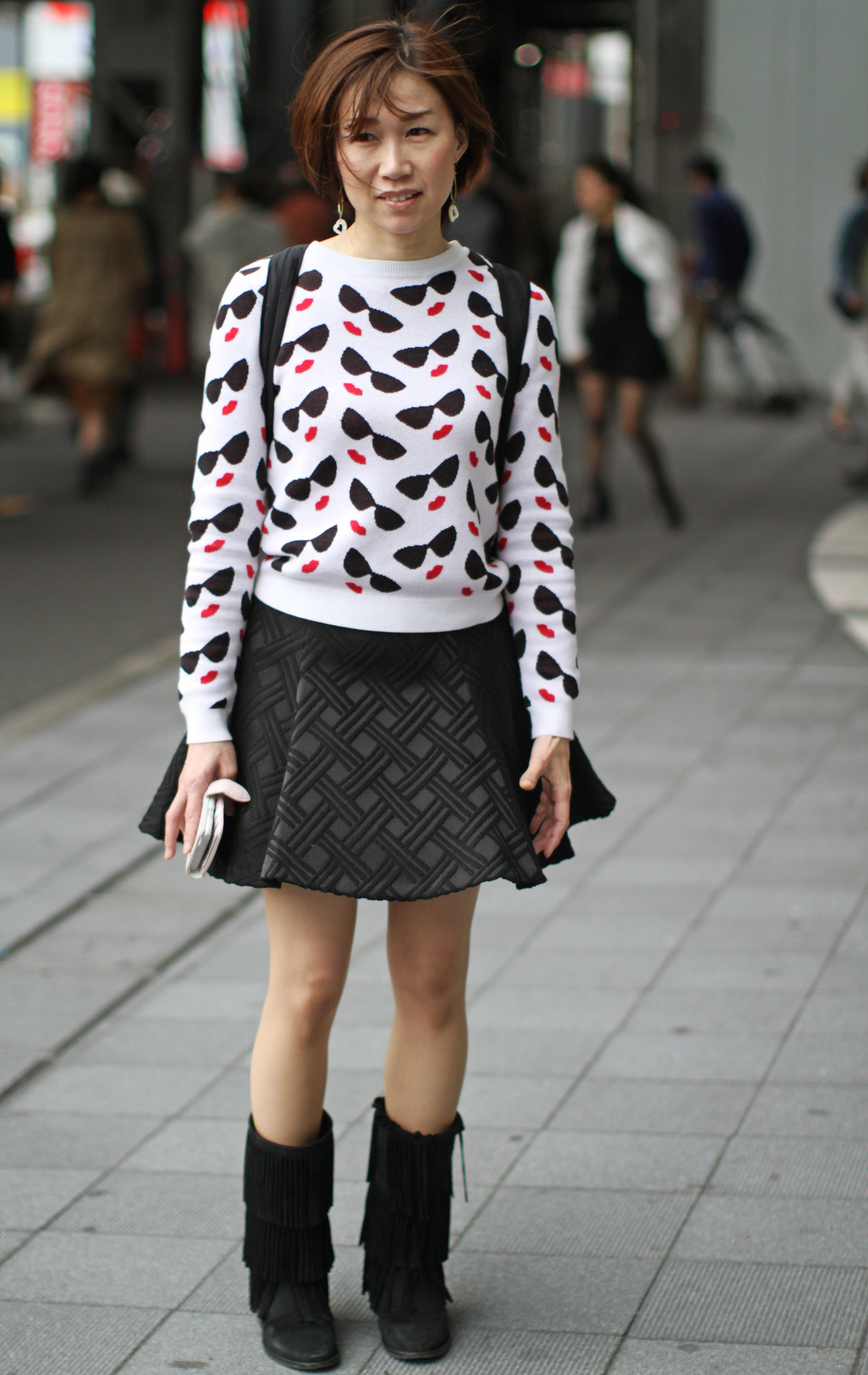 14 H Ftiga Streetstyle Outfits Fr N Tokyo Fashion Week 2016 Metro Mode