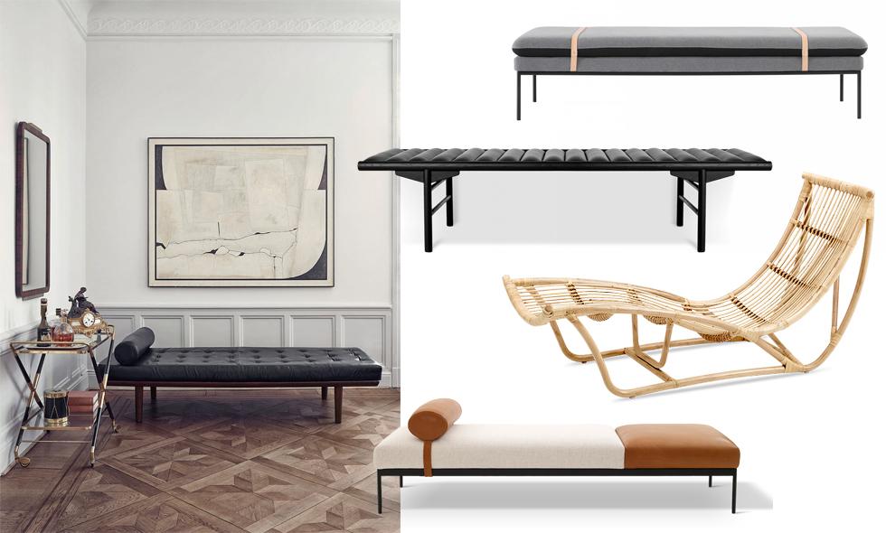 Bra Inred med årets trendigaste möbel – dagbädden - Metro Mode OF-64