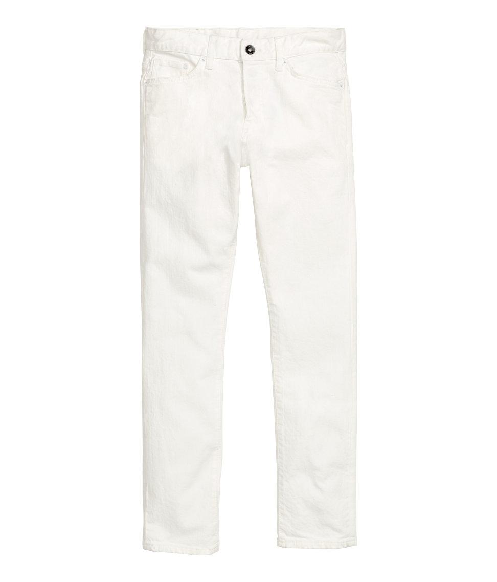 snyggaste vita jeansen