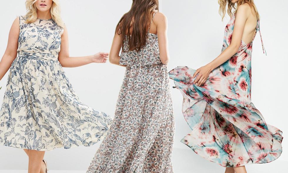 25afd6a79160 Blommiga klänningar – 8 fina modeller för sommarens alla tillfällen ...
