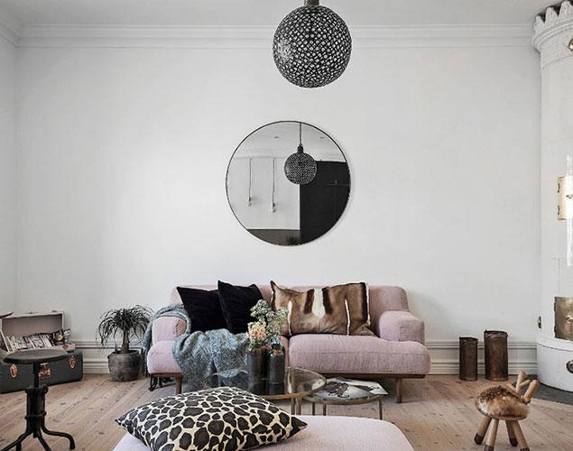 Trendig lägenhetsdröm med en twist i hjärtat av Östermalm