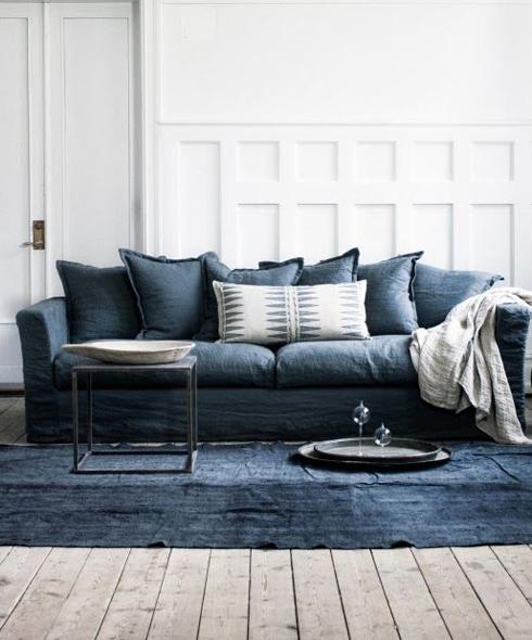 Toppen 25 anledningar till att inreda hemmet med nyanser av blå - Metro Mode EU-14