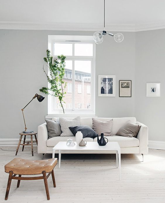 Punch Interior Design Furniture Options ~ Anledningar till att måla väggarna grå istället för