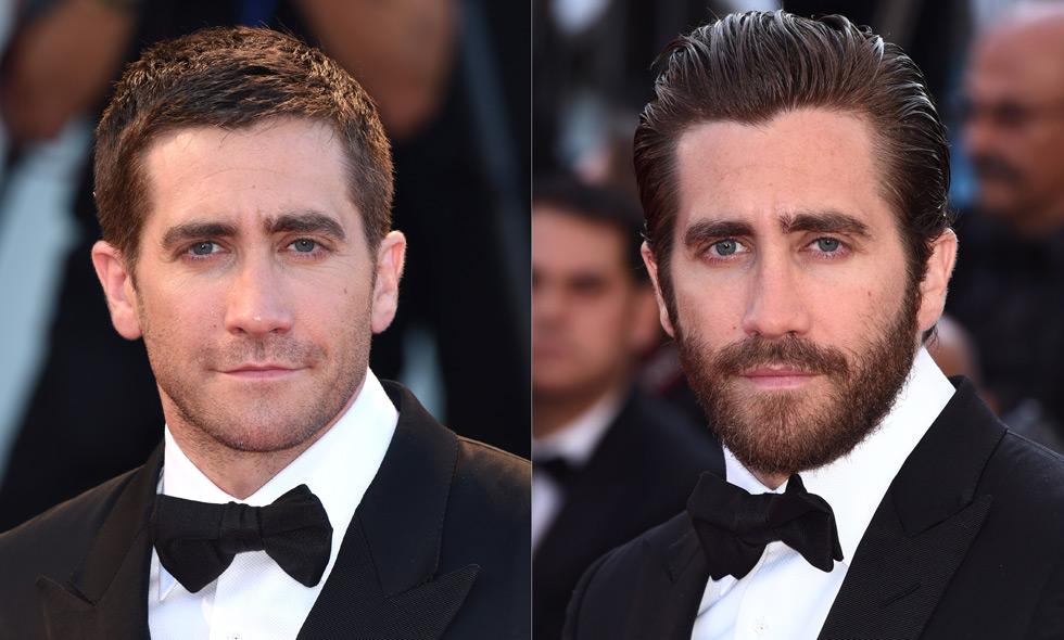 snygga män med skägg