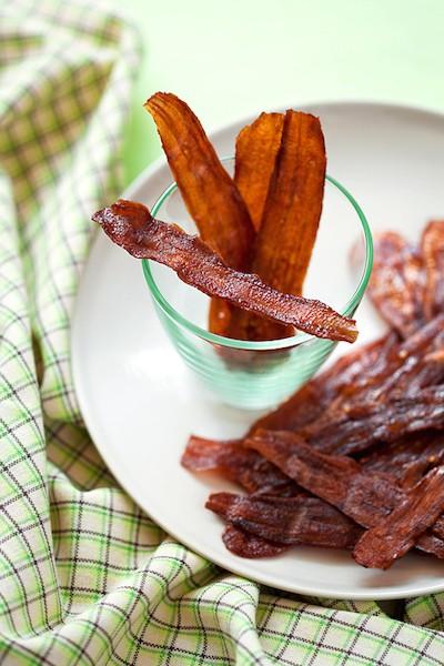 Vegetarisk bacon recept