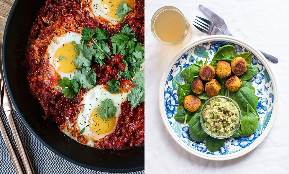 vegetarisk middag recept