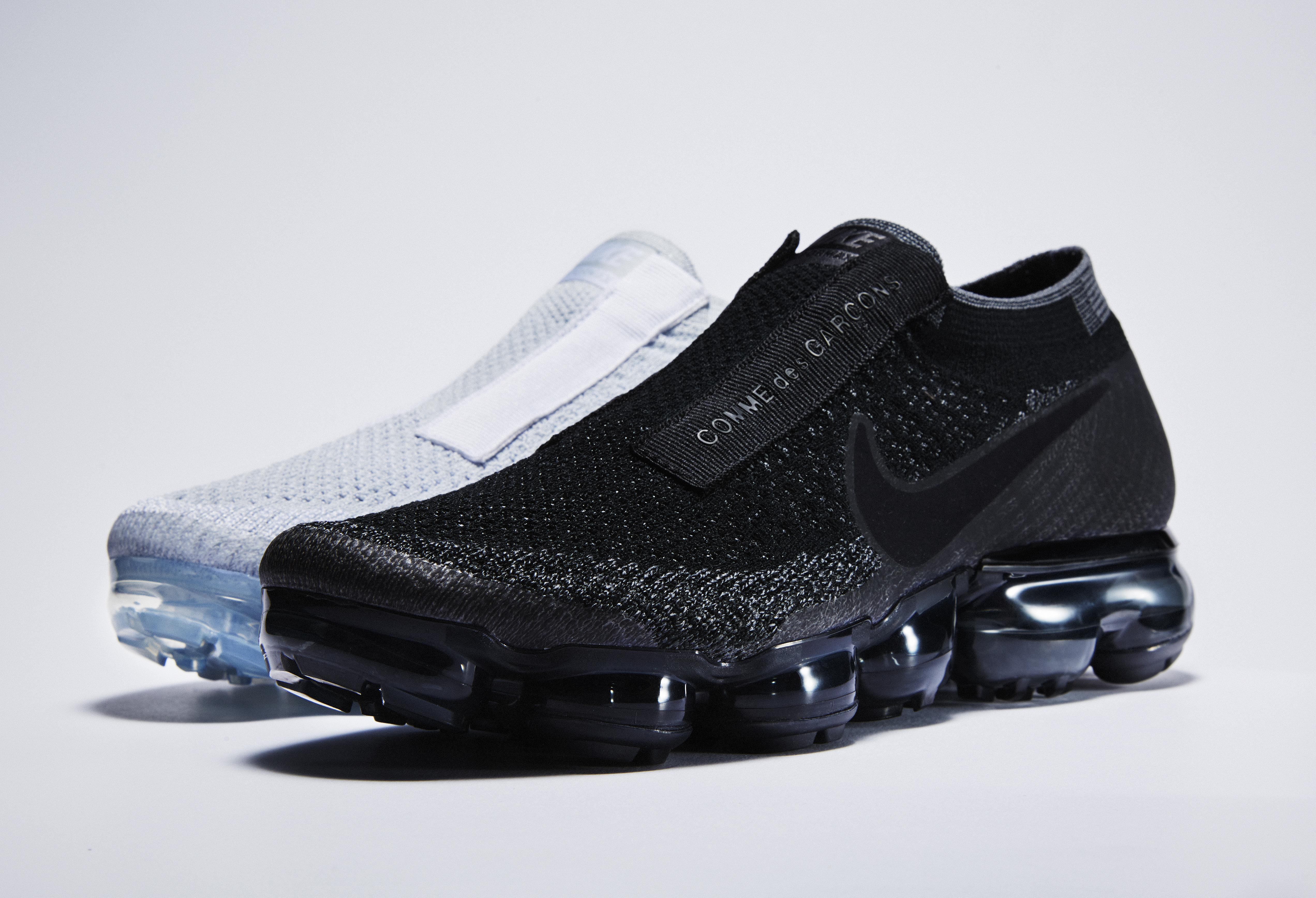 9fc21994663 Man kan aldrig få för många sneakers – så låter det åtminstone om du frågar  en sann sneakerfantast. Senaste sneakern från Nike för COMME des GARÇONS  väcker ...