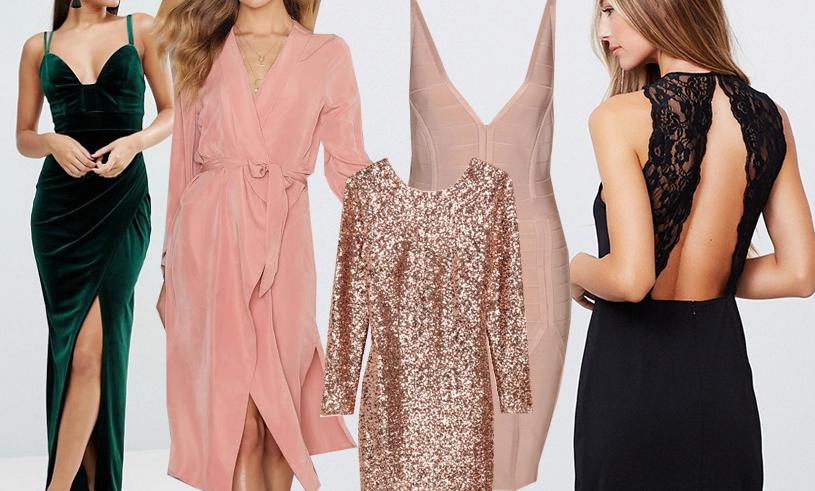f9b5c4d7682e Glittriga klänningar, långa klänningar, tajta fodral eller varför inte den  lilla svarta? Här är det absolut snyggaste och festligaste klänningarna  online.