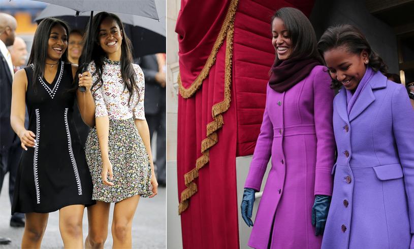 Bildspecial! Sasha och Malia Obamas snyggaste outfits de senaste 8 åren