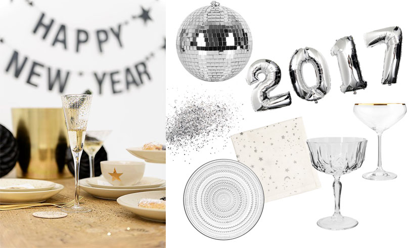 13 fina och glittriga köp för nyårsfesten