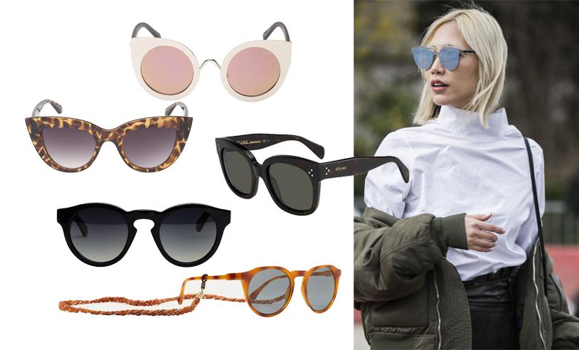 Ladda upp inför våren med de 14 snyggaste solglasögonen i