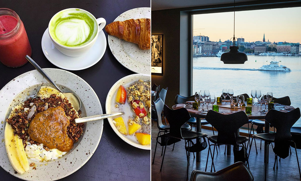 vegetarisk lunch stockholm