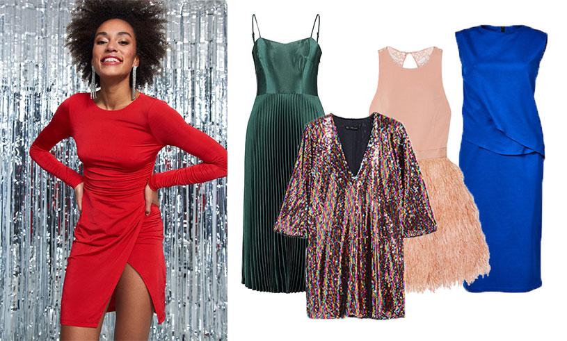Färgglada nyårsklänningar 14 trendiga modeller att shoppa
