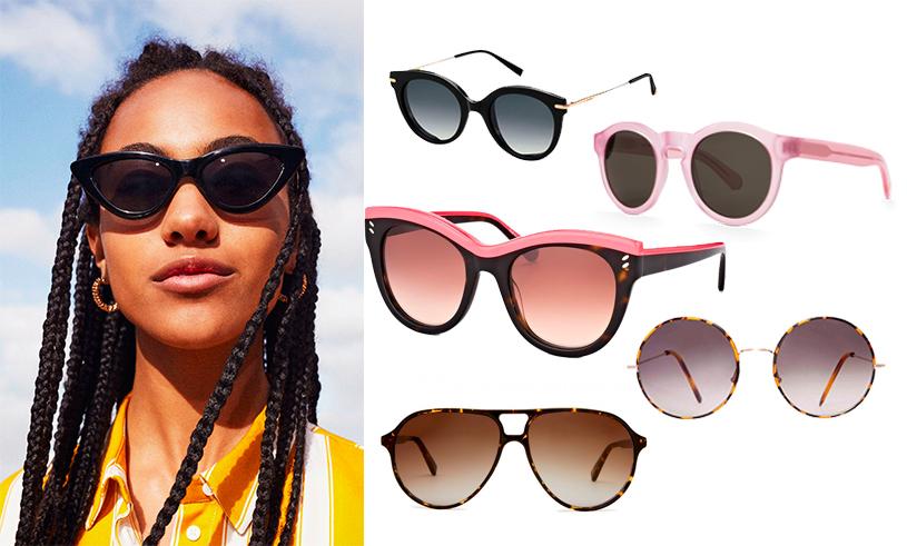 96588e1d9b När det kommer till val av solglasögon så ska man alltid välja modell efter  vad som passar din huvudform. Här är några av säsongens modeller som är bra  att ...
