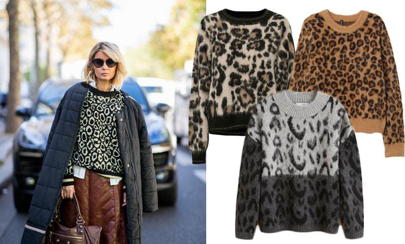 a30852931f80 Mönstret vi inte kan få nog av - här är 10 stickade tröjor i leopard! -  Metro Mode