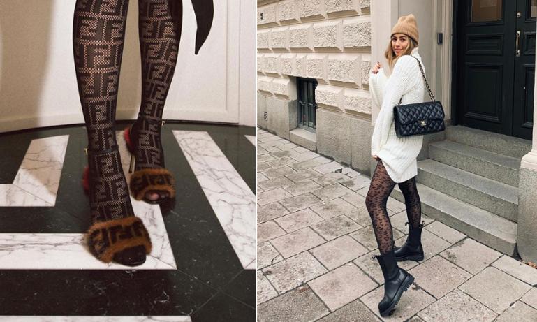 super billigt utförsäljning temperament skor Perfekt till glöggpartyt! 18 mönstrade strumpbyxor som lyfter din ...