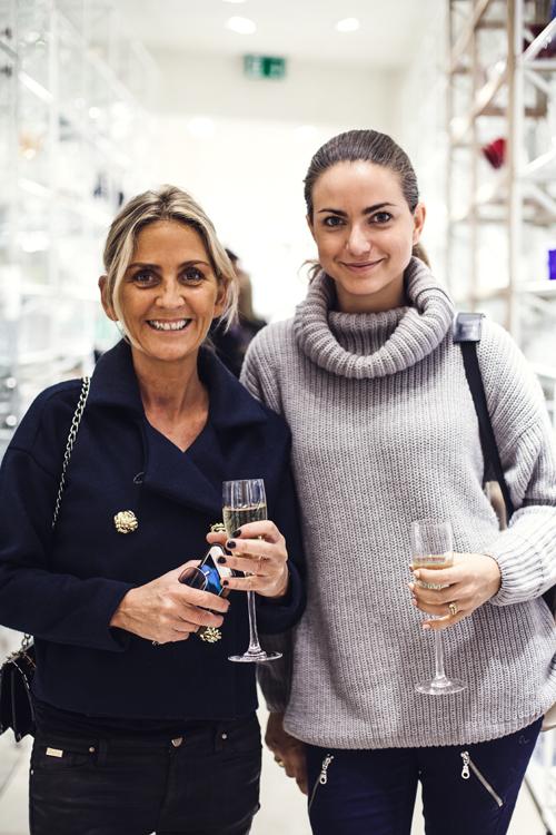 Helene Falk och Isabelle HÜwi