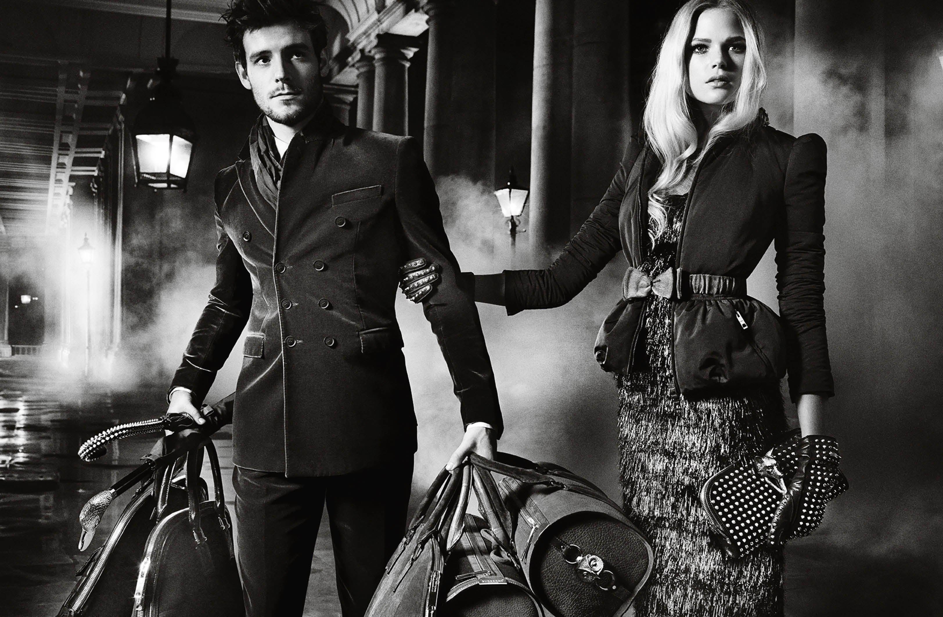 Burberry Autumn_Winter 2012 Ad Campaign featuring Roo Panes and Gabriella Wilde