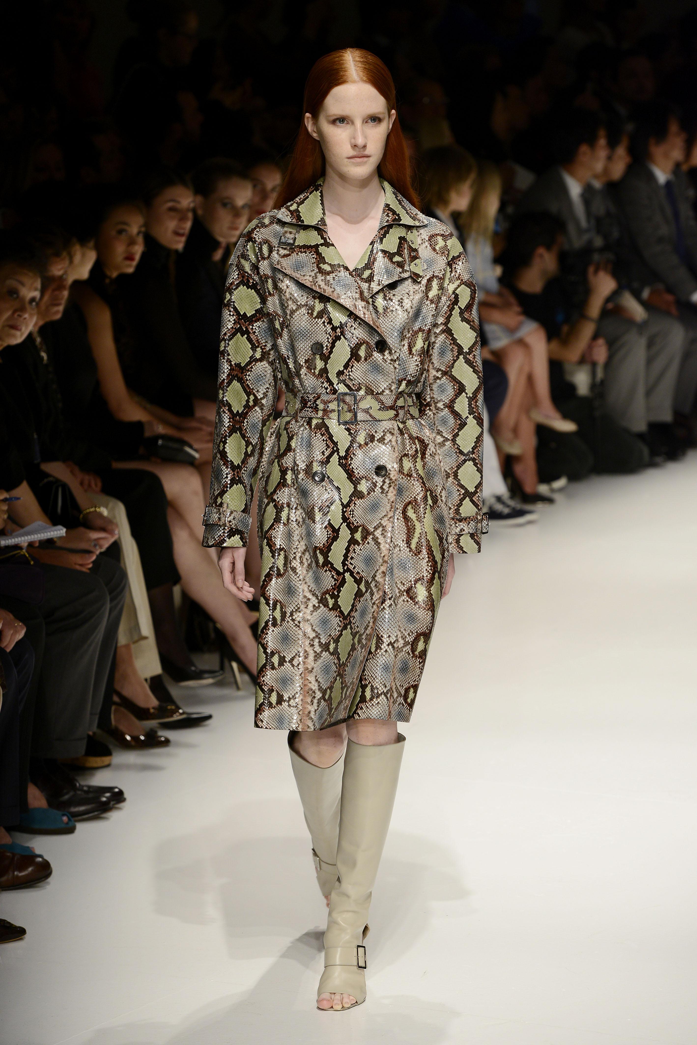 Salvatore Ferragamo to wear Spring Summer 2014. Milan september 2014