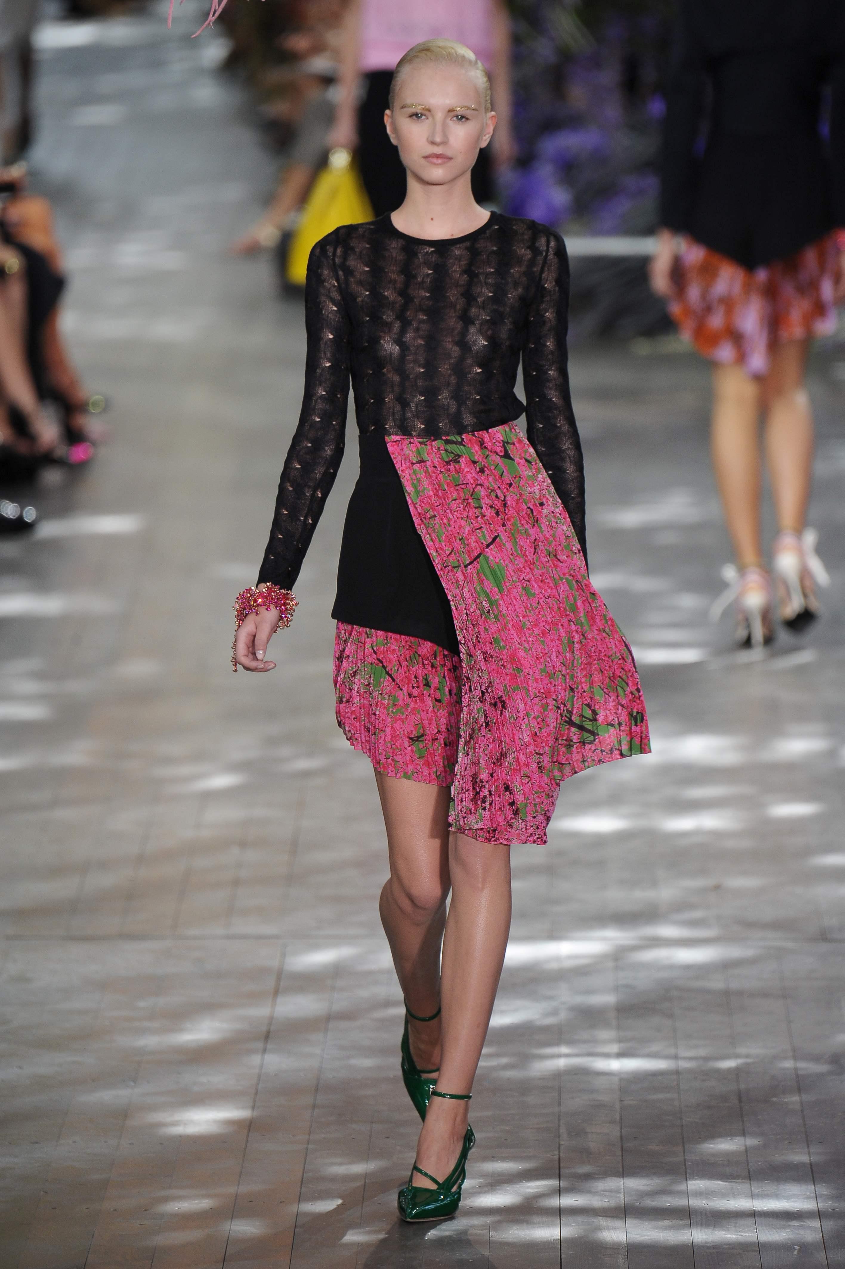 DIOR_Ready to wear sprng_summer 2014;  Paris_fashion week  september_2013