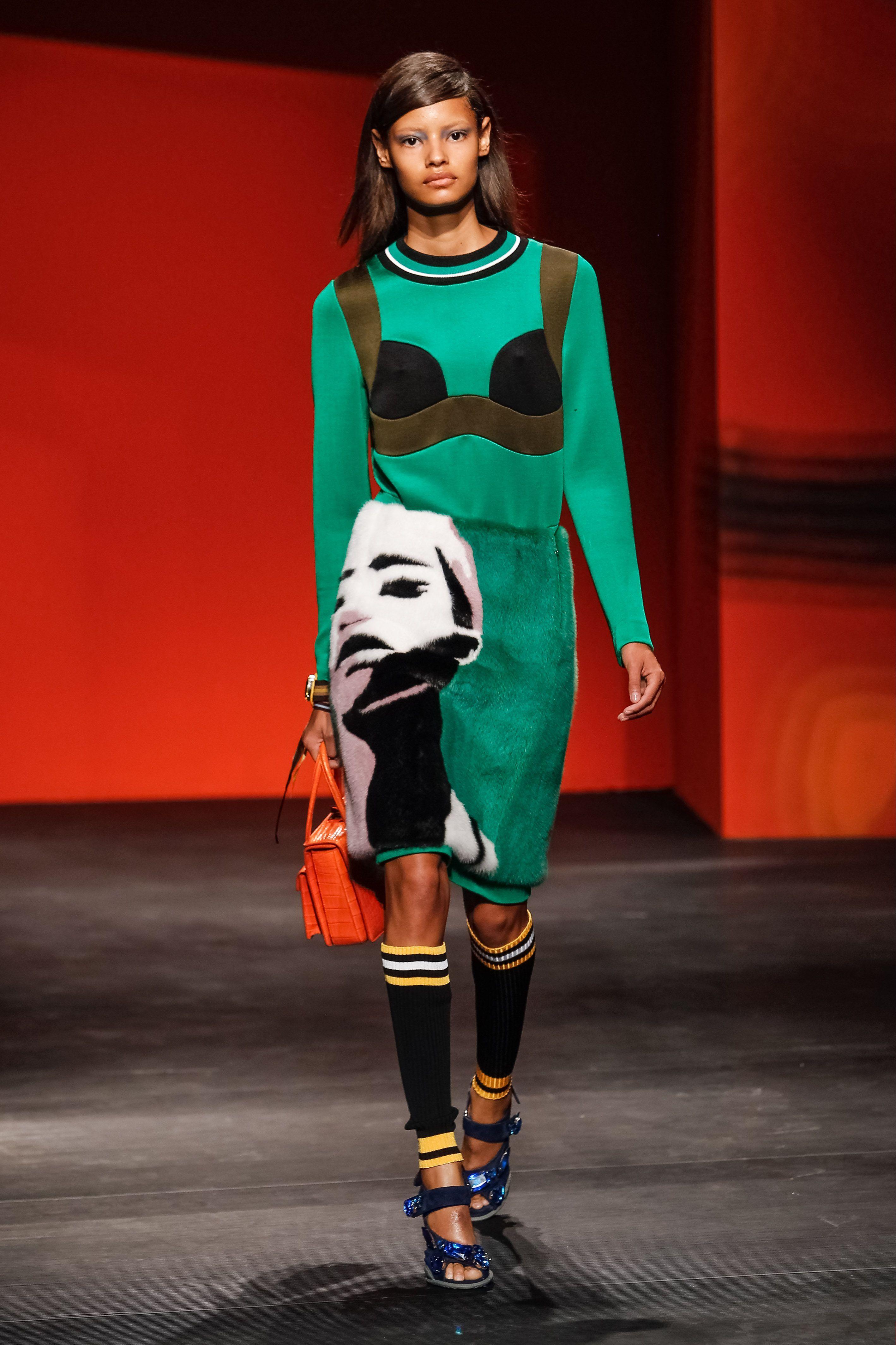 Milan Fashion Week Womenswear Spring/Summer 2014 - Prada - CatwalkWhere: Milan, ItalyWhen: 19 Sep 2013Credit: SIPA/WENN.com**Only available for publication in Germany. Not available for publication in the rest of the world.**