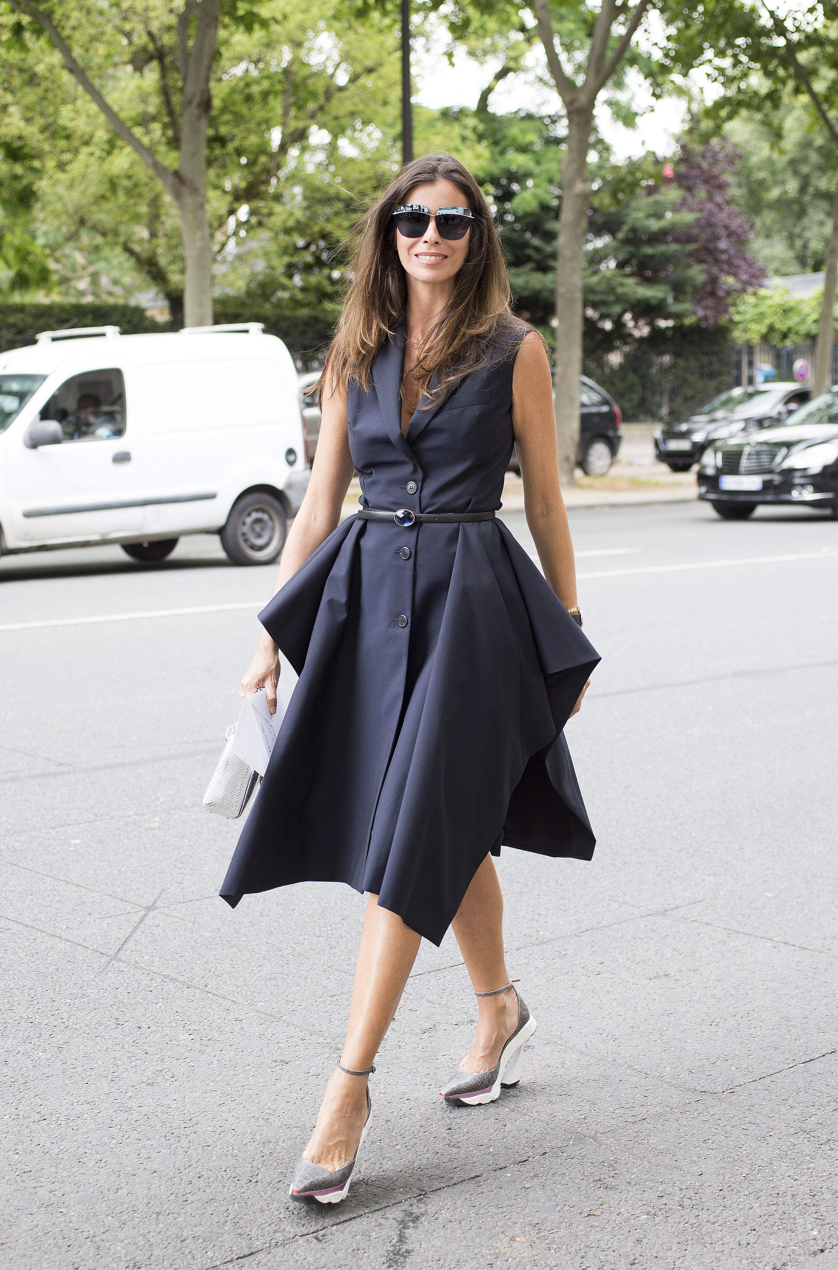 Street Style during Haute Couture Fall Winter 2014, Paris Fashion Week, France - 07 Jul 2014