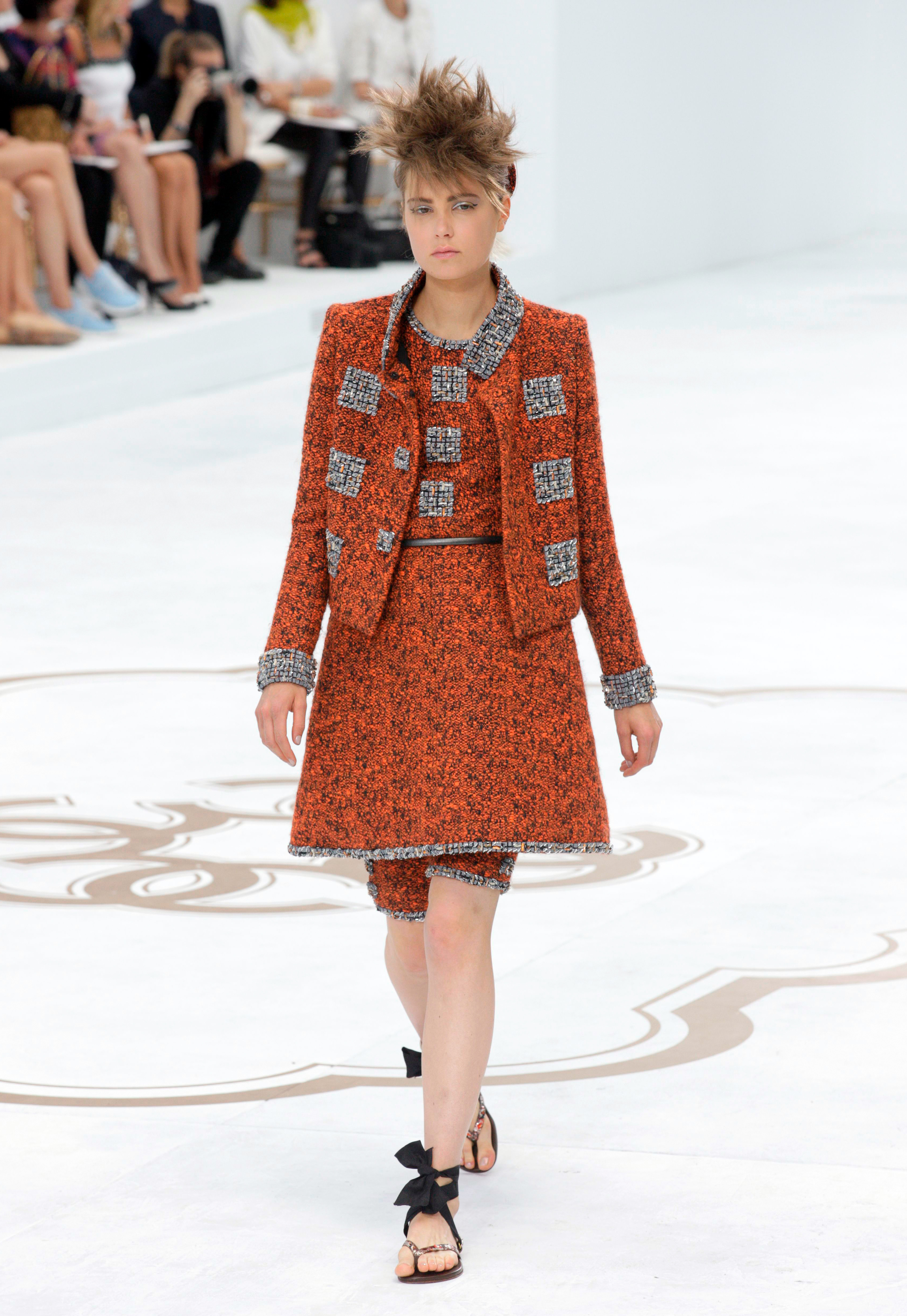 Chanel show, Haute Couture Fall Winter 2014, Paris Fashion Week, France - 08 Jul 2014