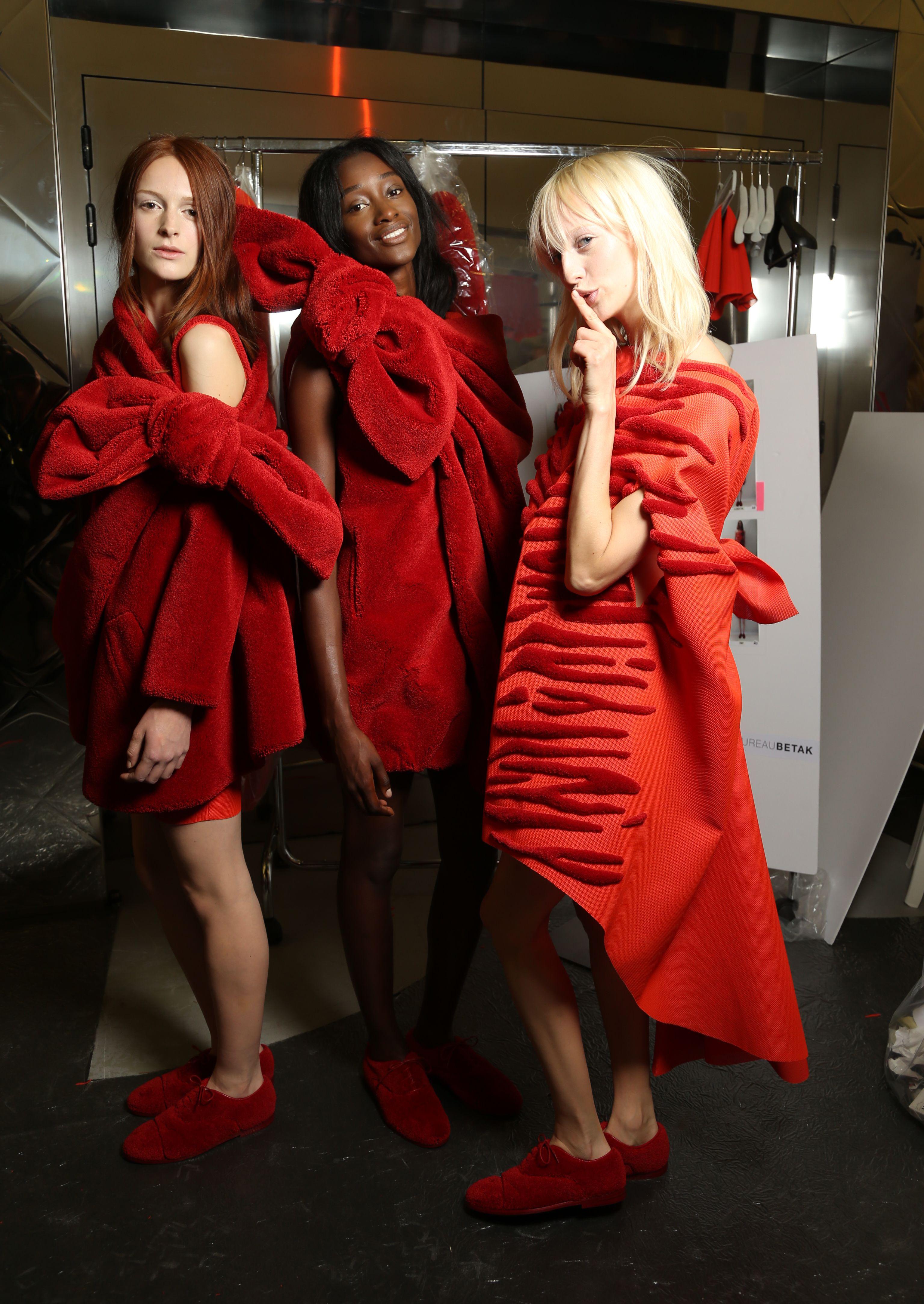 Viktor & Rolf show, Haute Couture Fall Winter 2014, Paris Fashion Week, France - 09 Jul 2014