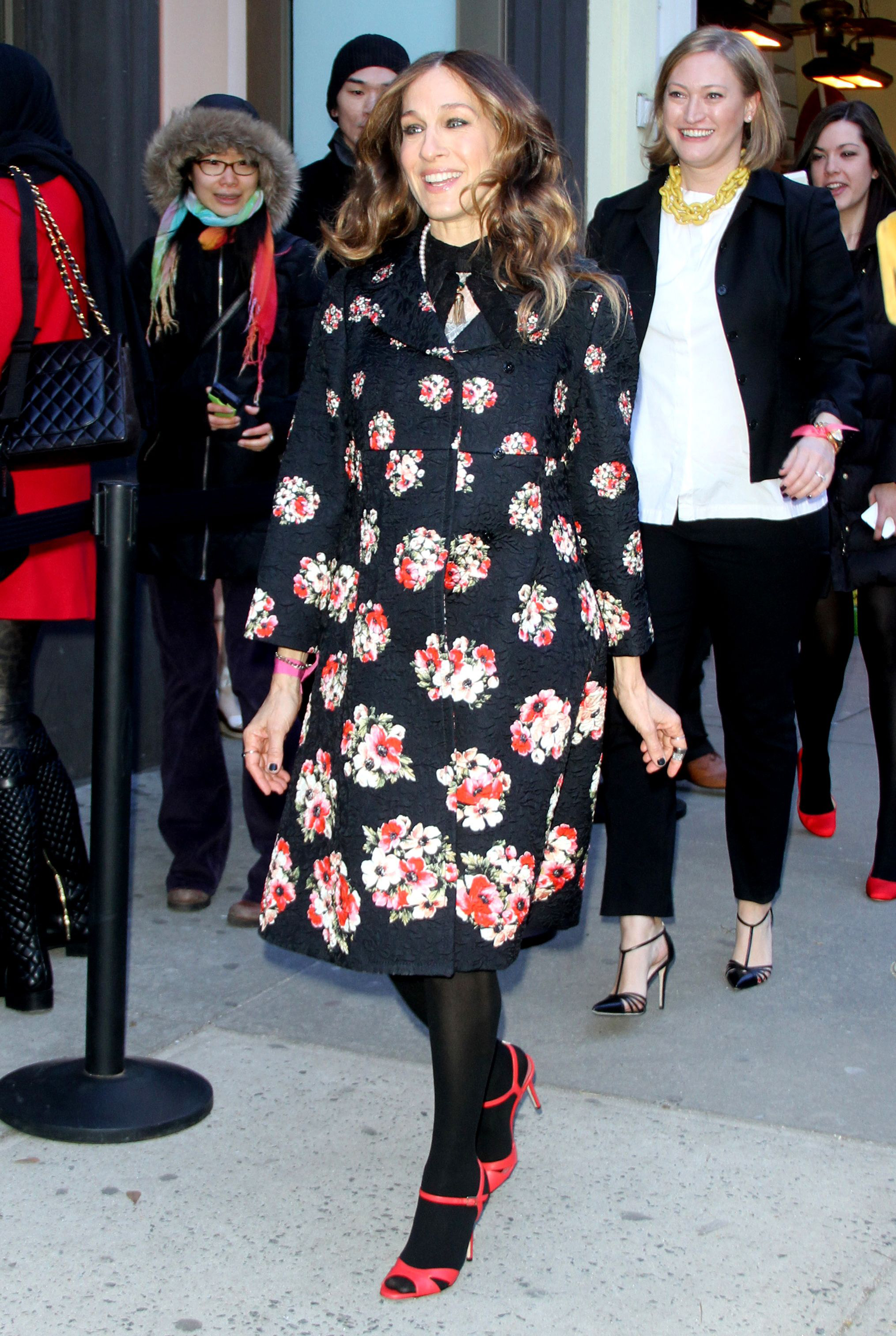 Nordstrom SJP Collection pop up shop opening, New York, America - 28 Feb 2014