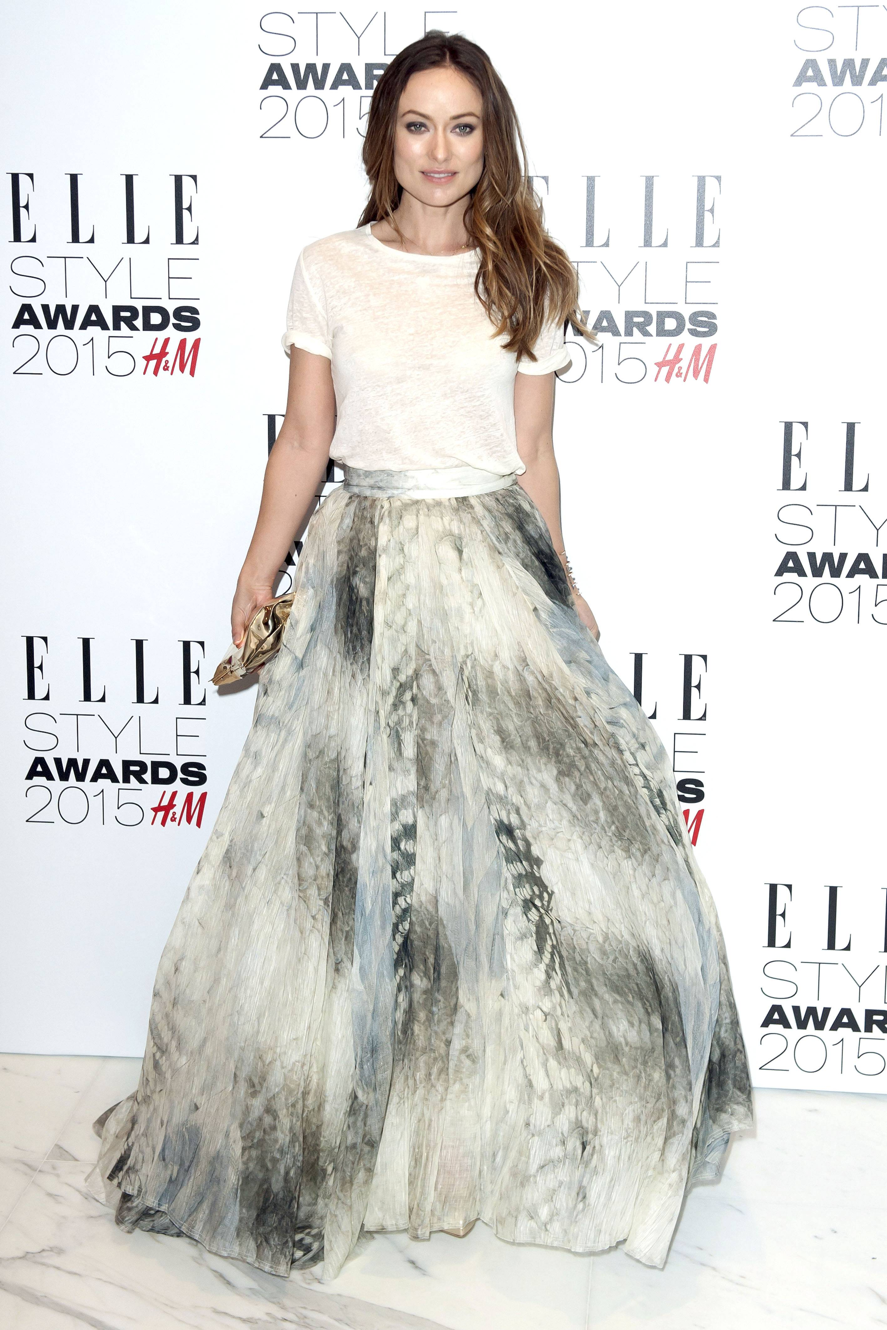 Olivia Wilde bei der Verleihung der Elle Style Awards 2015 im Sky Garden. London, 24.02.2015 Foto:xL