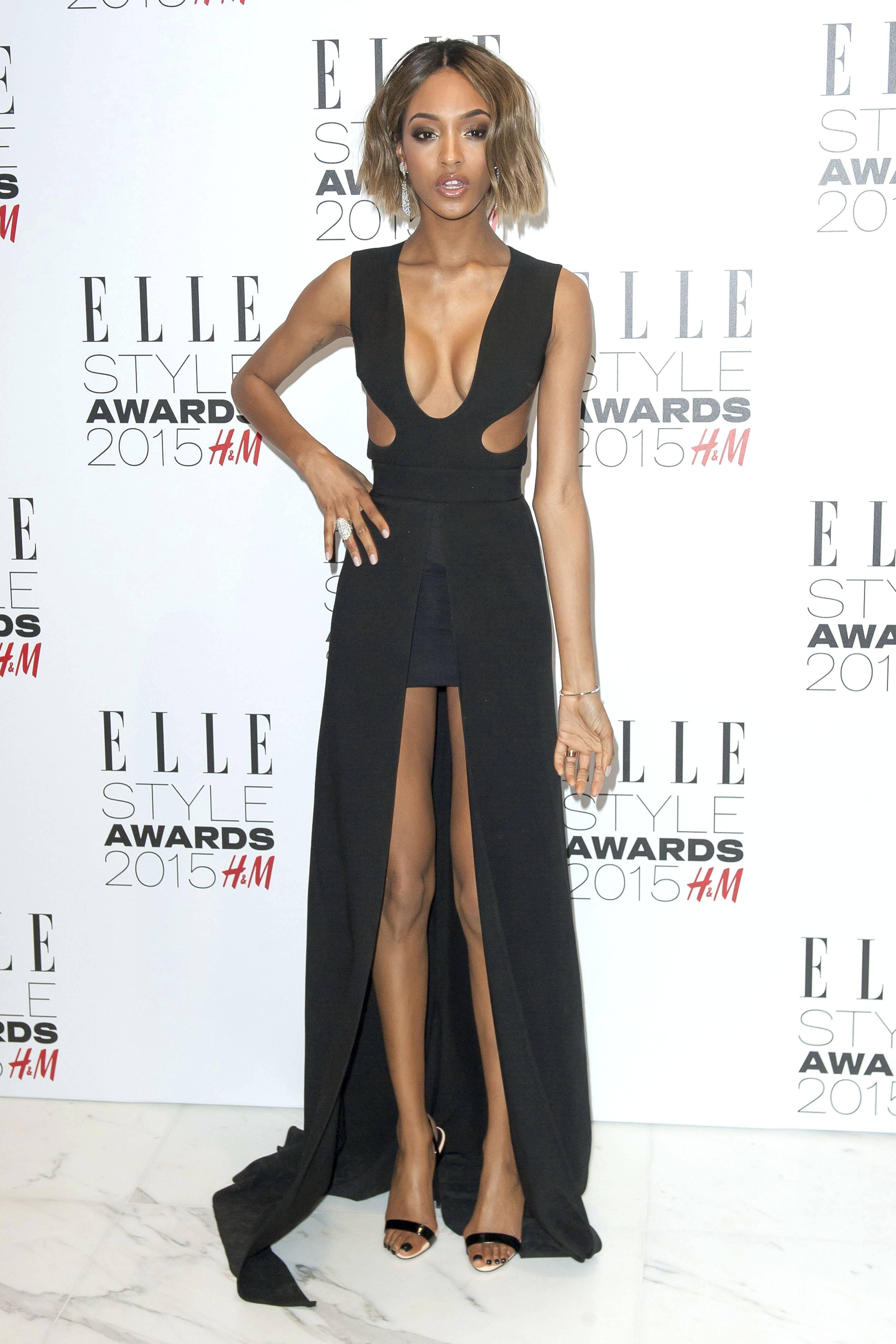 Jourdan Dunn bei der Verleihung der Elle Style Awards 2015 im Sky Garden. London, 24.02.2015 Foto:xL