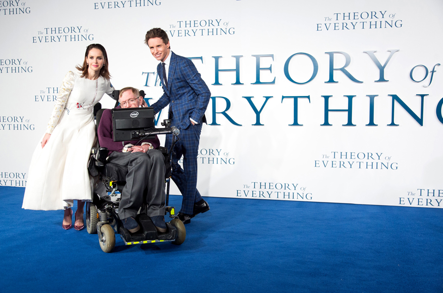 'The Theory of Everything' Film Premiere, Leicester Square, London, Britain - 09 Dec 2014