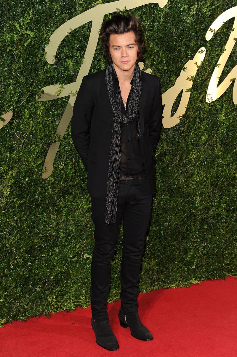 British Fashion Awards, London Coliseum, London, Britain - 02 Dec 2013
