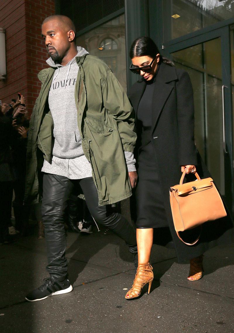 Kim Kardashian out and about, New York, America - 06 Nov 2014