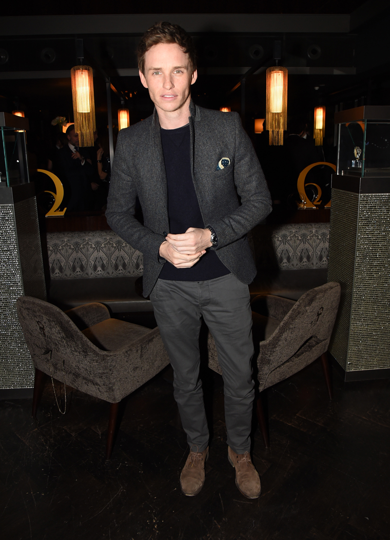 OMEGA VIP dinner at Aqua Shard, London, Britain - 10 Dec 2014