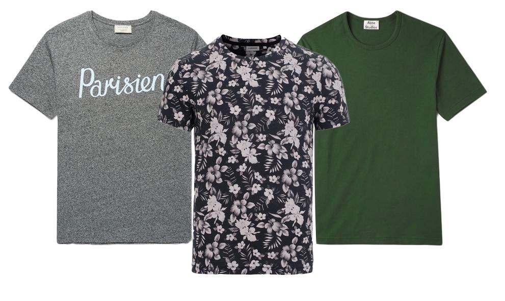 5 t-shirts som lyfter din look i vår