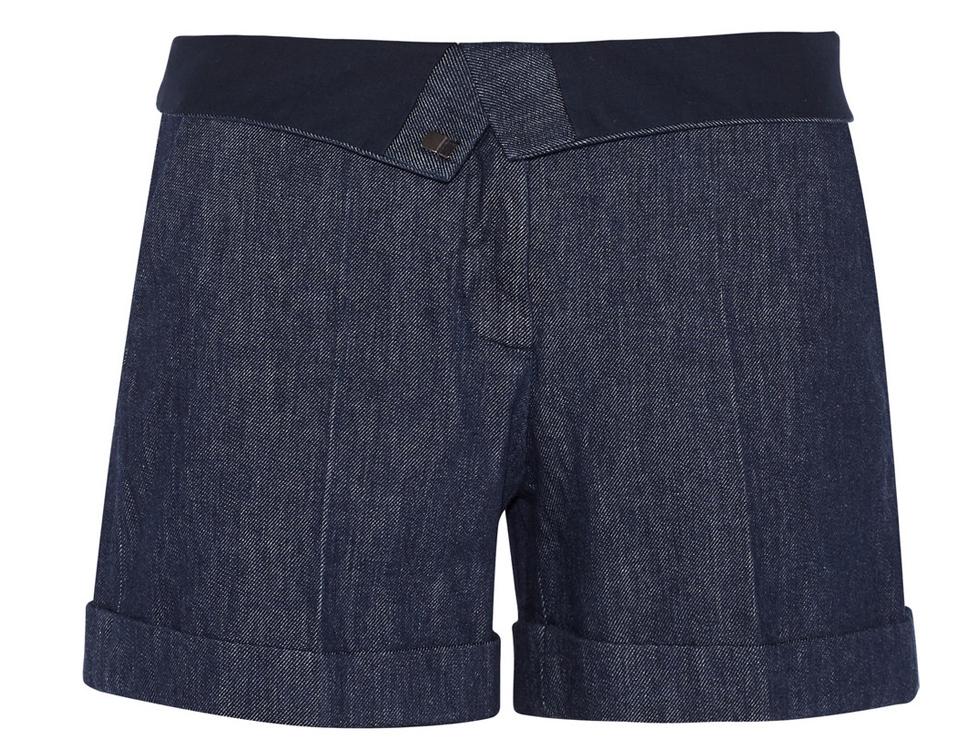 Jeansskhorts