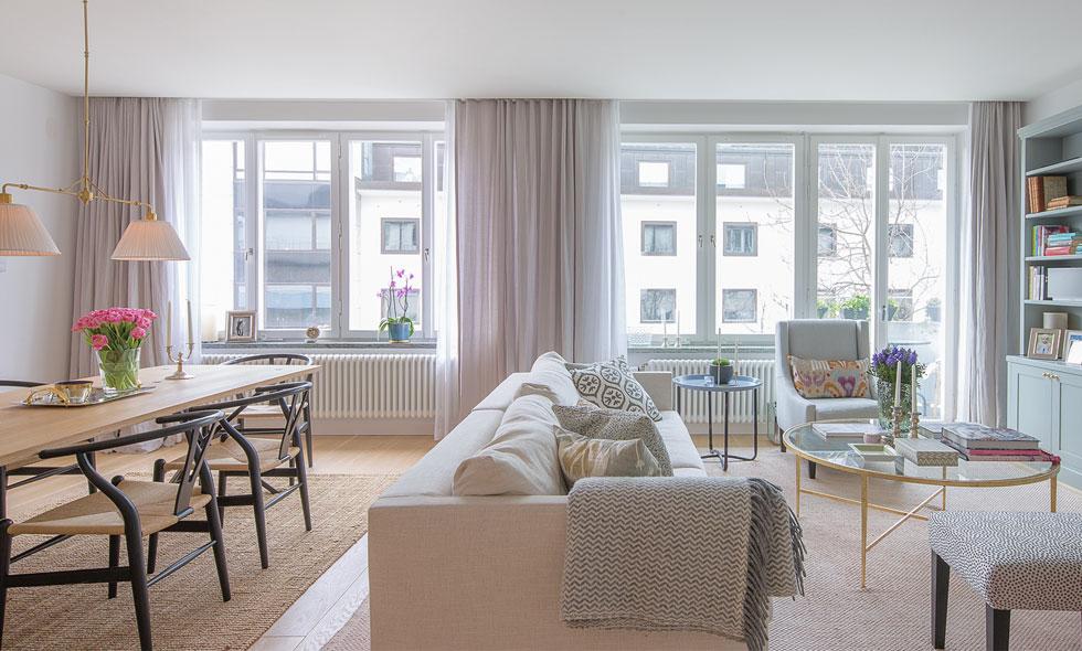 Lägenhetsförsäljning på Nybrogatan