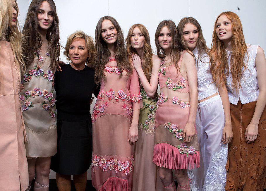 Albertta Ferretti_ready to weaqr spring summer 2015 Milan september 2014