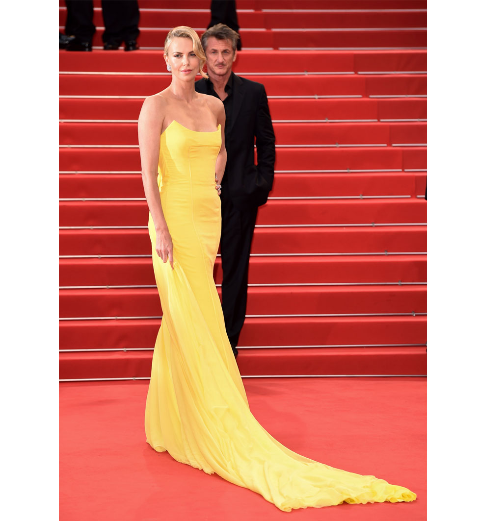 Charlize Theron Sean Penn  under Cannes filmfestival 2015